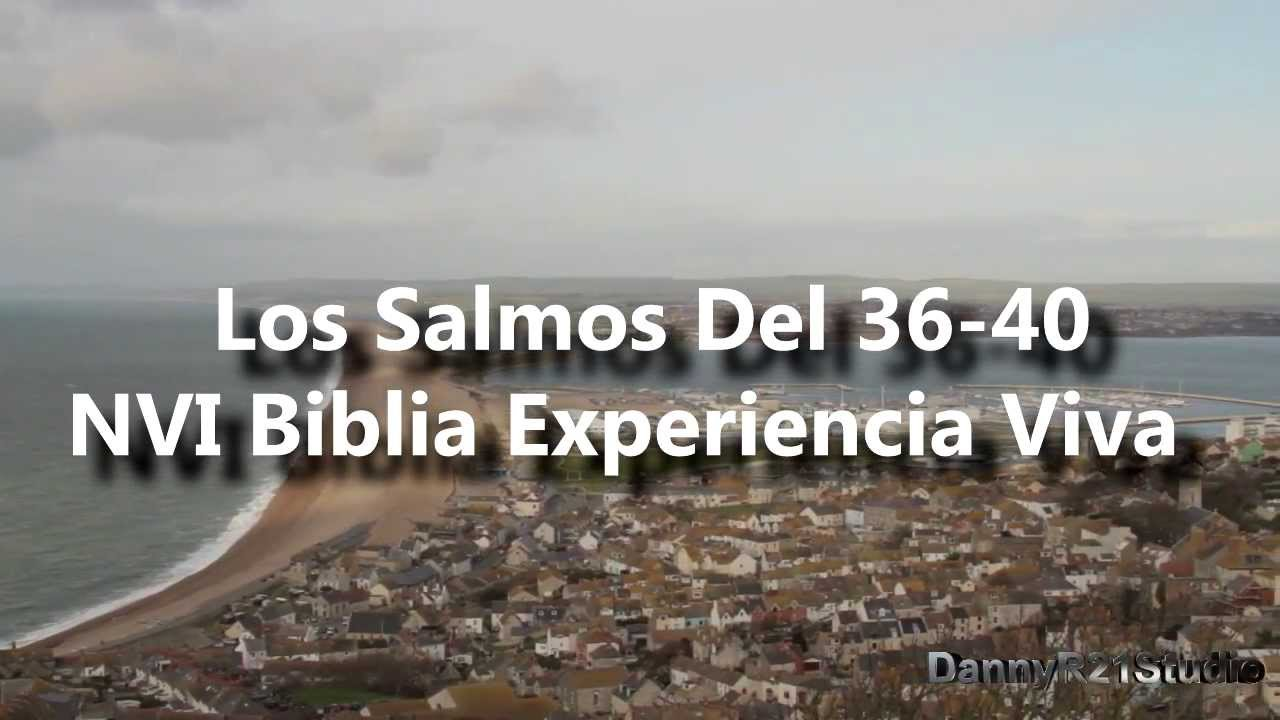 08.Salmos 36-40 NVI Biblia Experiencia Viva