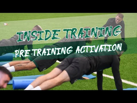 INSIDE TRAINING   Activation - How Ireland players prepare to train