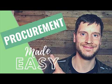 Procurement: What is Procurement? A day in the life of procurement...