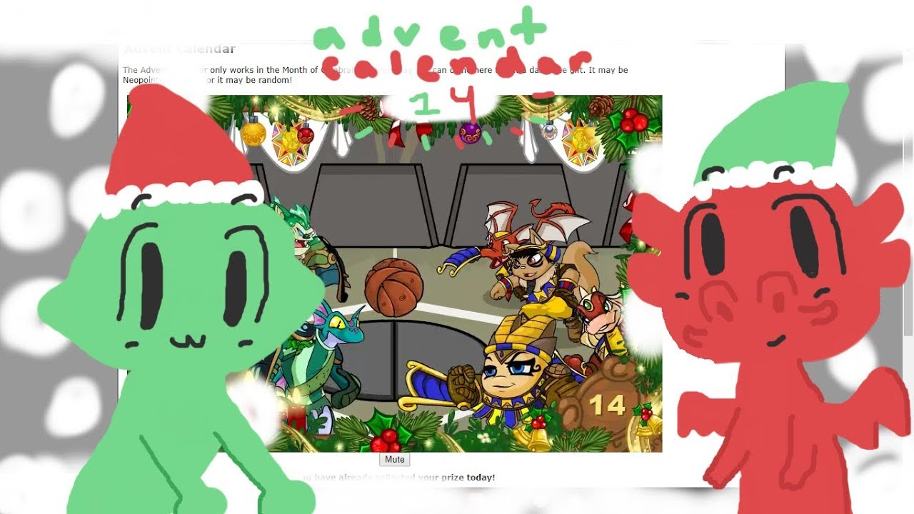 Animal Jam And Neopets Advent Calendar Day 14 Youtube