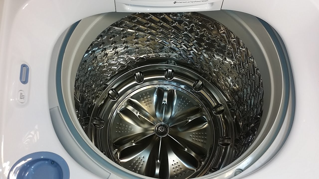Samsung S New High Efficiency Top Load Washer