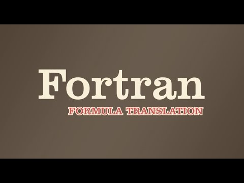 How They Created - Fortran | World