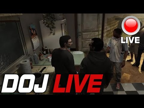 Dept. of Justice Cops Role Play Live - The Apartment Party