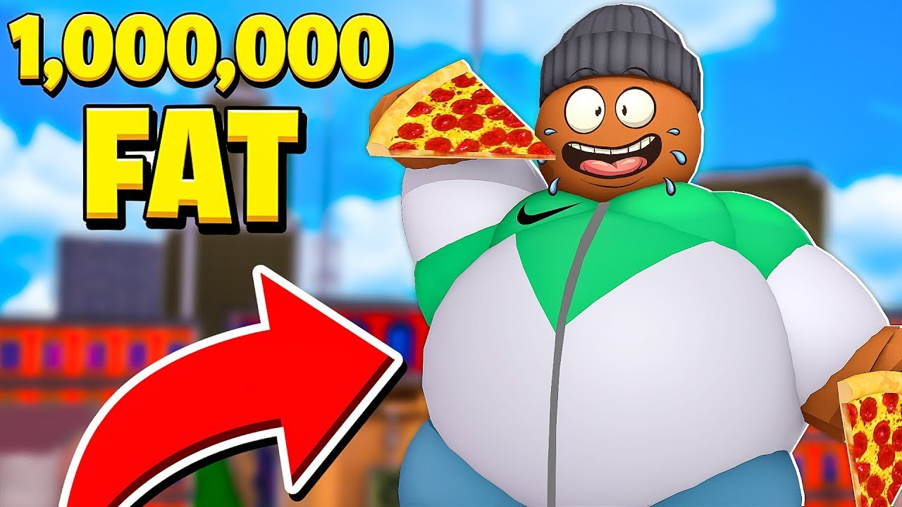 Becoming The FATTEST MAN in the WORLD.. (Roblox) thumbnail