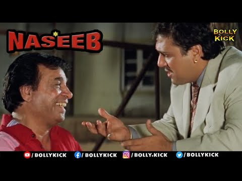 Download Naseeb Full Movie Part 1   Govinda   Hindi Movies 2021   Mamta Kulkarni   Kader Khan   Rahul Roy