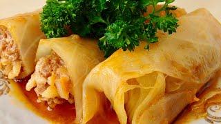Голубцы, Домашний Рецепт (Вкусно и Просто) | Cabbage Rolls Reсipe, English Subtitles