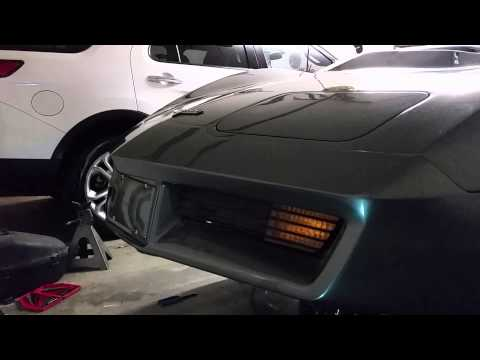 1979 Corvette C3 with electric headlight motors