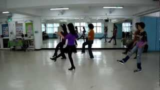 CHERRY BLOSSOM CHA CHA Linedance-Taiwan櫻花樹下.wmv