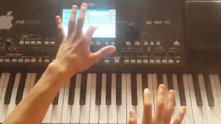 تعليم عزف اعوف الدنيا محمد السالم