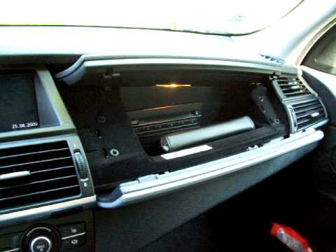 BMW X5 Glove Compartment - YouTube