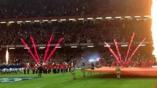 Wales v Scotland, Millennium Stadium - Atmosphere and Anthems