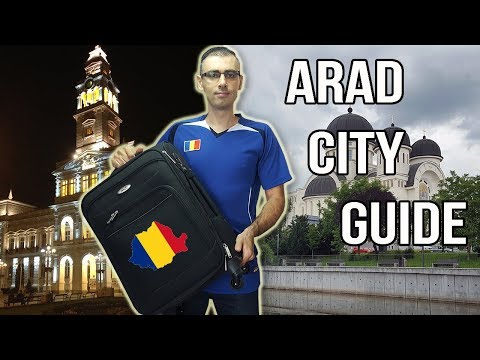 10 PLACES TO VISIT IN ARAD   Romanian Travel Guide #1