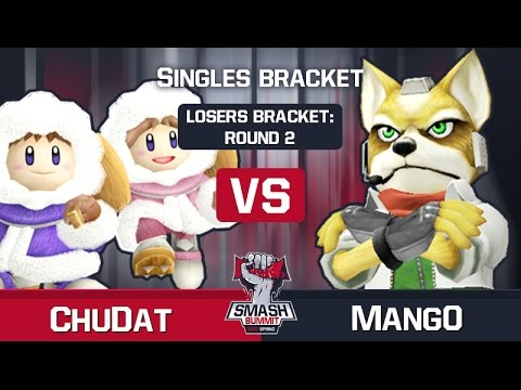 ChuDat vs Mang0 - Melee Singles: Lower Bracket - Smash Summit Spring 2017