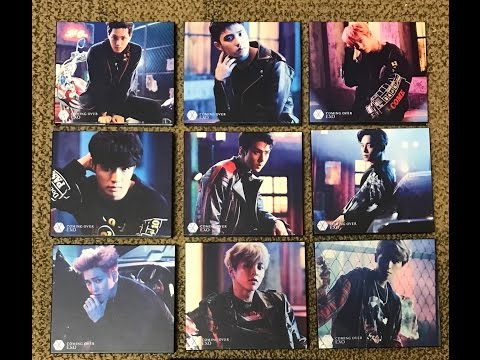 EXO Coming Over Unboxing All 10 Versions (2nd Japanese Single Limited Edition)
