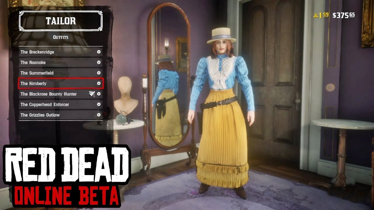 e0f92561a2 All Outfits & Clothing Showcase (Female) - Red Dead Online (Secret ...