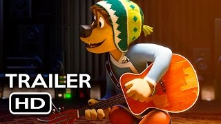 Rock Dog Official Trailer #1 (2017) Luke Wilson, Eddie Izzard Animated Movie HD