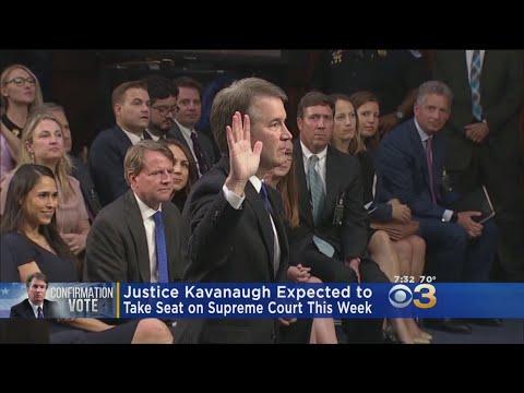 Senators Oppose Confirmation Vote, Kavanaugh To Take Supreme Court Seat This Week