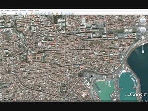 Incredibile mistero su catania svelato da google earth for Google planimetria