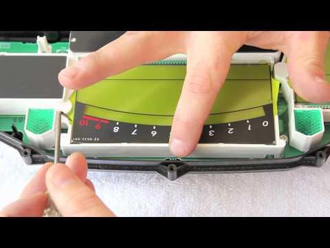 Suzuki Burgman 650 Dash LCD Underlay Replacement