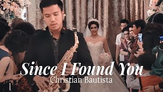Since I Found You - Live at Wedding (Wedding Entrance by Desmond Amos)