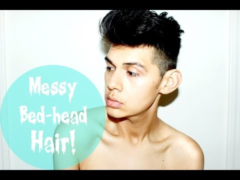 Messy Bedhead Hair Tutorial For Men My Everyday Easy