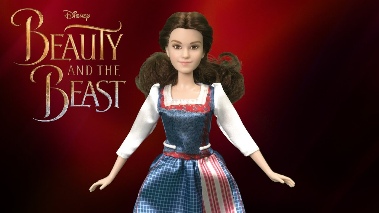 Beauty And The Beast Village Dress Belle Doll From Hasbro