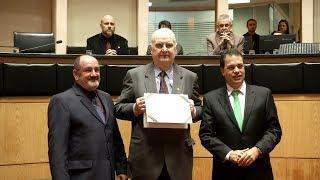 Ato Solene comemora centenário do Clube de Regatas Aldo Luz