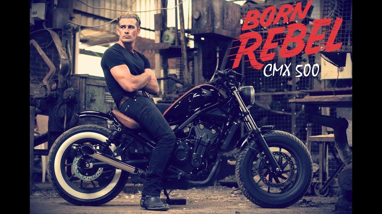 honda rebel cmx 500 custom 39 born rebel 39 by. Black Bedroom Furniture Sets. Home Design Ideas