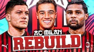 REBUILDING AC MILAN!!! FIFA 20 Career Mode