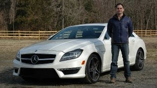 Mercedes CLS 63 AMG 2012 Test Drive & Review by RoadflyTV with Ross Rapoport