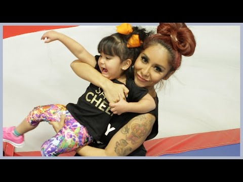 Snooki Takes Giovanna Cheerleading—Take 2!