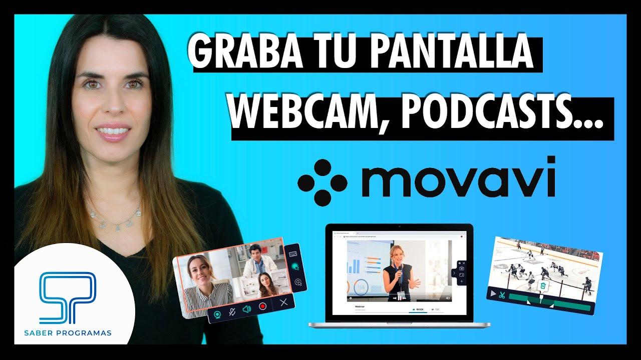 Movavi Screen Recorder 𝟐𝟎𝟐𝟏   Cómo grabar tu pantalla, webcam, audio y mucho más para tus cursos.