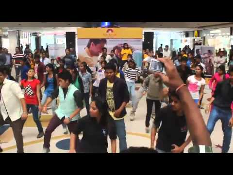 Flash Mob at Treasure Island Mall Indore by Students of vikrant college