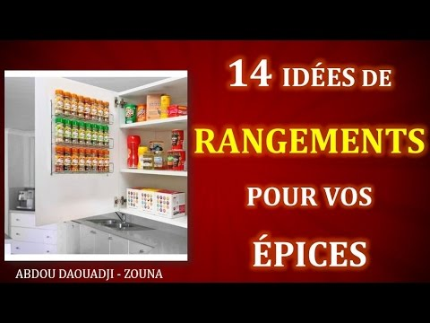 14 astuces pour ranger ses pices youtube. Black Bedroom Furniture Sets. Home Design Ideas