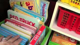 Preschool Learning Cabinet Organization Thumbnail