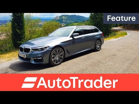 BMW 5 Series Touring 2017 France road trip