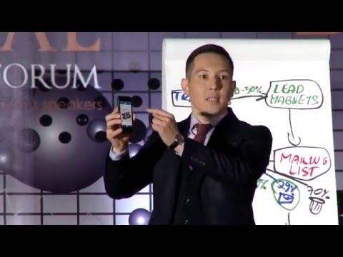 Алибек Тналиев на Global Business Forum - Стратегическое маркетинговое планирование