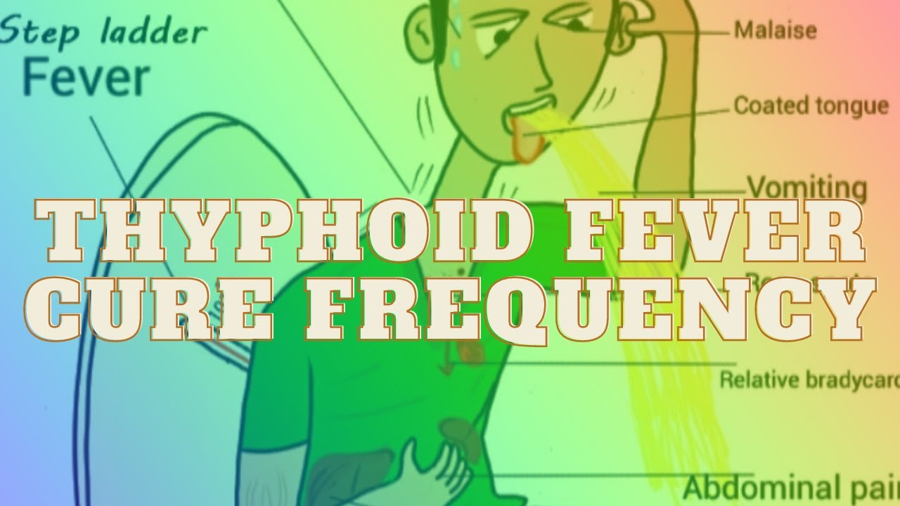 Thyphoid Fever Cure Frequency with Isochronic Tone   Rife Frequency Treatment - Healing Sound