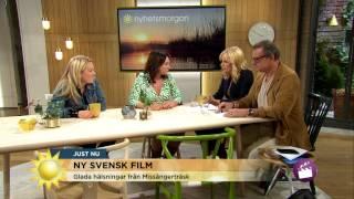 Ny svensk romcom-film med Martina Haag - Nyhetsmorgon (TV4)