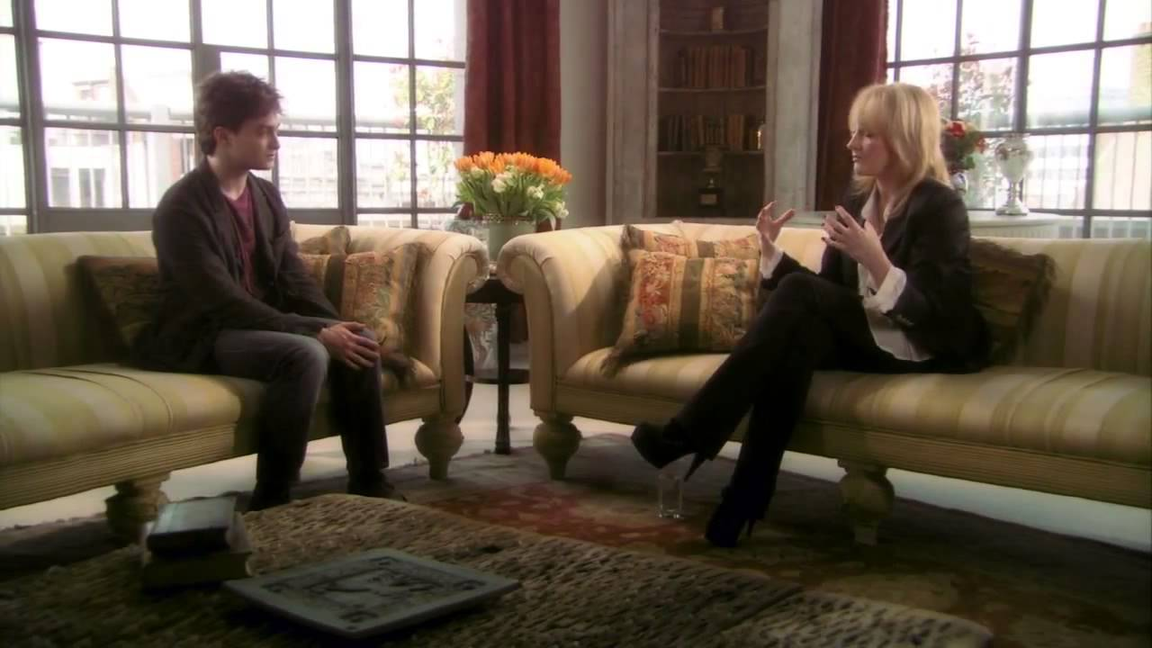 A Conversation Between Jk Rowling And Daniel Radcliffe Youtube
