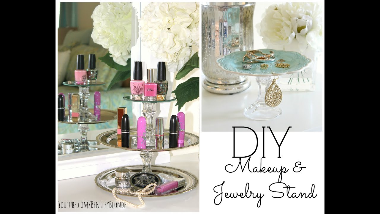 DIY Dollar Store Room Decor Organization DIY Jewelry Makeup