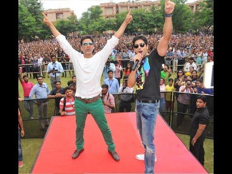 Akshay & Sidharth at JNU Jaipur