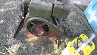 Vintage 1967 McCulloch Mite-E-Lite Generator Pre Restoration