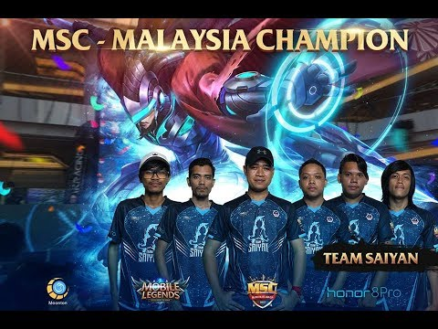 FINAL GAME SAIYAN VS MYA Jr | KARRIE OP [SAIYAN] FREDO - MSC MALAYSIA
