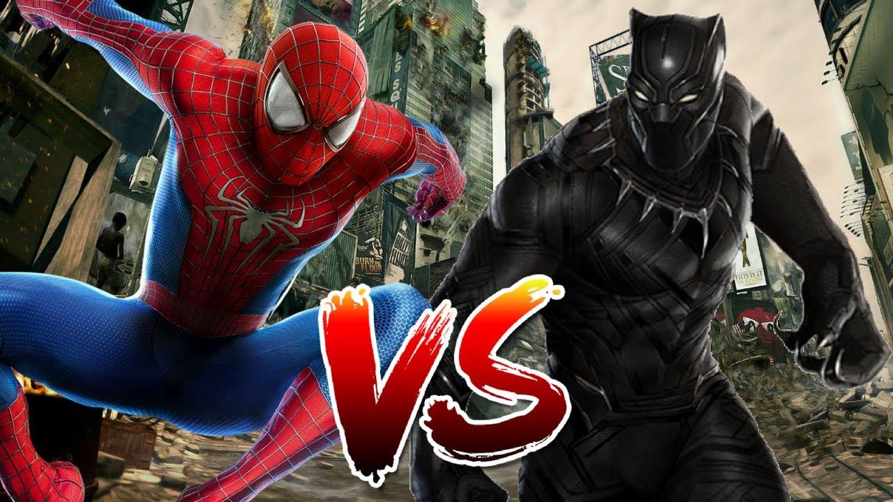 Spider-Man Black Suit VS Spider-Man - Disney Infinity ...