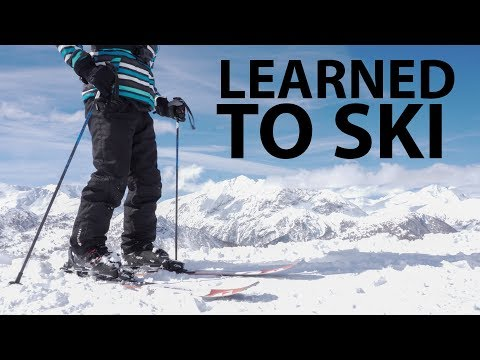 This Week I Learned to Ski