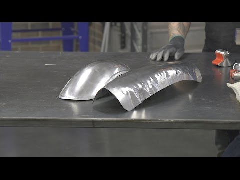 Beginner's Guide To Metal Fab! Build Your Own Café Racer Fender – Part 2 of 2. From Eastwood