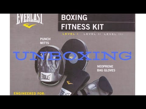 Unboxing Everlast Boxing Fitness Kit In South Africa
