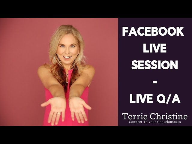 Facebook Live Session - Live Q/A with Terrie Christine