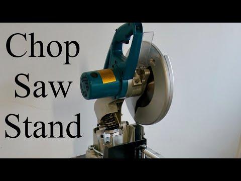 Metal Chop Saw Stand
